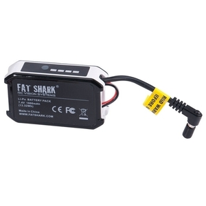 엑스캅터 - 팻샤크 FatShark 7.4V 1800mAh battery pack w/LED indicator FSV1803 드론배터리
