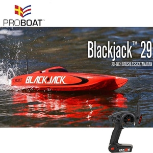 엑스캅터 - Blackjack 29-inch Catamaran Brushless V3: RTR (조종기 포함)
