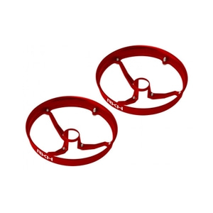 엑스캅터 - 라콘헬리 CNC AL 6mm Propeller Guard (Red) (for IDTX980, 982, 010E980)