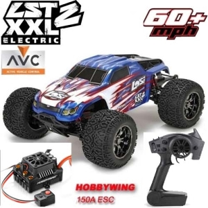 엑스캅터 - LST XXL-2 Electric 1/8-Scale 4WD Brushless Monster Truck 6셀지원 대형전동몬스터