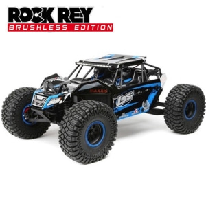 엑스캅터 - [락레이]Losi 1/10 Rock Rey 4WD Blue RTR with AVC