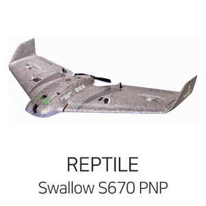 엑스캅터 - REPTILE Swallow S670 Flying Wing PNP