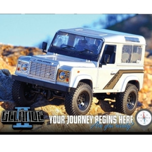 엑스캅터 - [게랜더-Defender D90 버전] RC4WD Gelande II Truck Kit w/Defender D90 Body Set