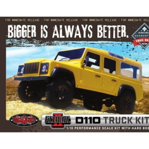 엑스캅터 - [게랜더-Hard Body 버전] RC4WD Gelande II D110 Truck Kit With Hard Body