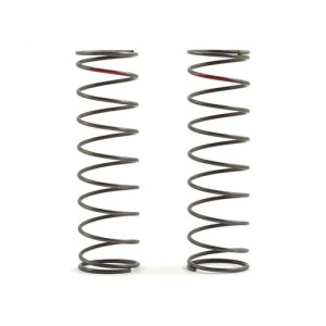 엑스캅터 - Team Losi Racing 16mm EVO Rear Shock Spring Set (Red - 3.8 Rate) (2)