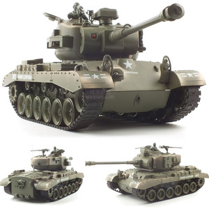 엑스캅터 - [27MHz] 1/18 27MHz US M26 R/C BB Shooting (YAK234002TAN) BB탄 슈팅탱크 M26 무선모형 RC