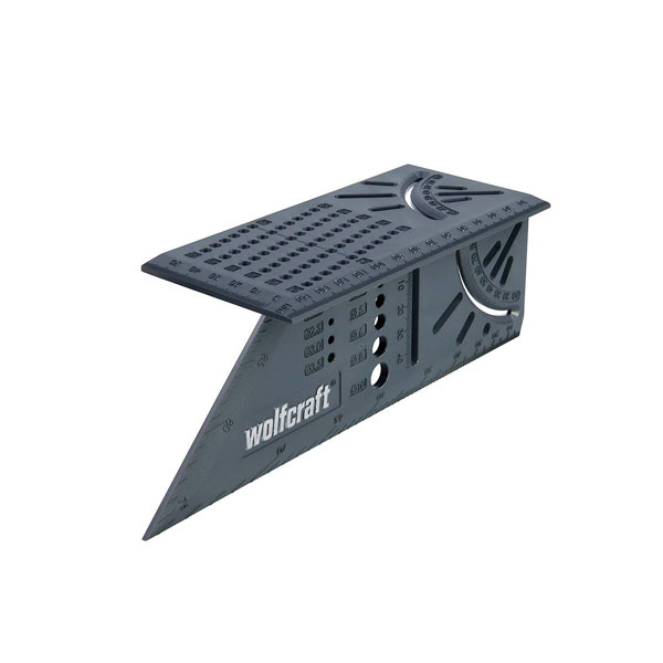 엑스캅터 - WolfCraft 3D Plastic Measuring Layout Tool