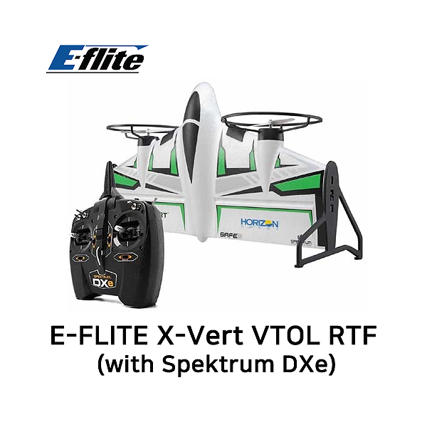 엑스캅터 - E-FLITE X-Vert VTOL 504mm RTF (with Spektrum DXe)