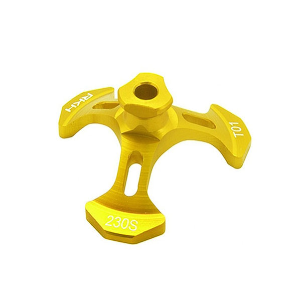 엑스캅터 - 라콘헬리 CNC AL Swash Leveler (Yellow) - Blade 230 S 옵션