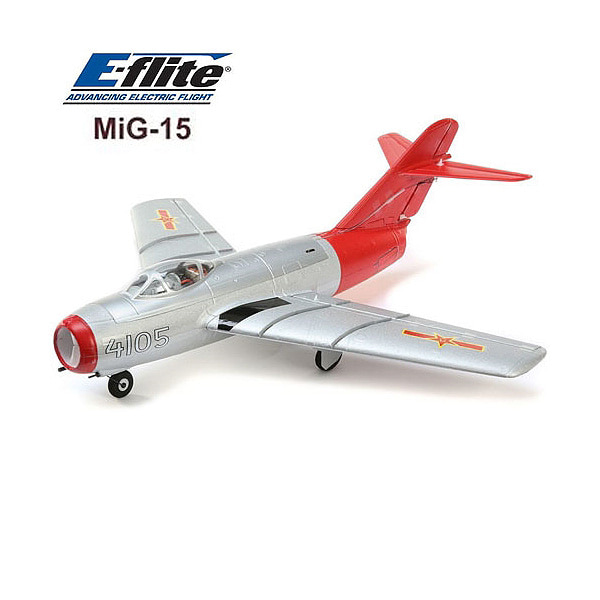 엑스캅터 - E-FLITE(Blade) 미그15 제트전투기 UMX MiG-15 28mm EDF Jet BNF with AS3X and SAFE